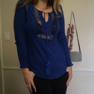 NEVER WORN blue blouse